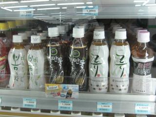 ソウルのファミマのお茶
